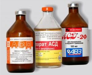Как применять асд 2 при псориазе