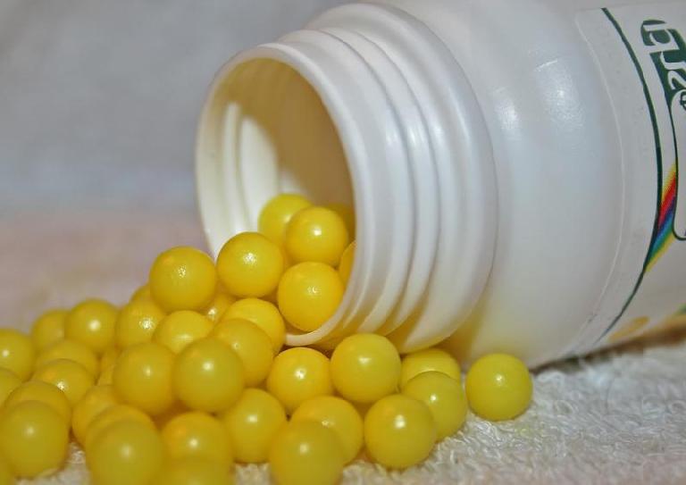 жёлтые драже