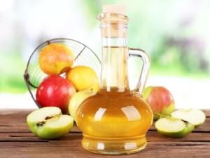 Лечим псориаз яблочным уксусом