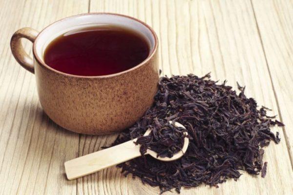 кружка с чёрным чаем