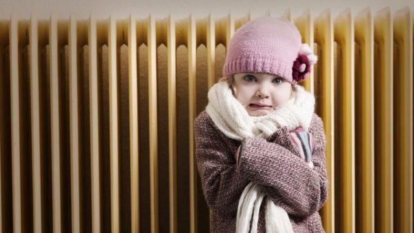 ребёнку холодно