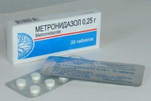 Метронидазол от дерматита