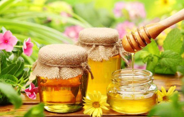 три баночки мёда