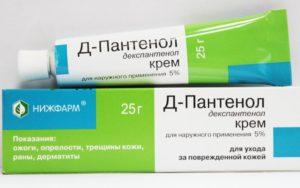 Пантенол при дерматите. Как пользоваться