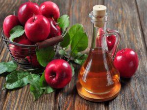 Яблочный уксус от дерматита