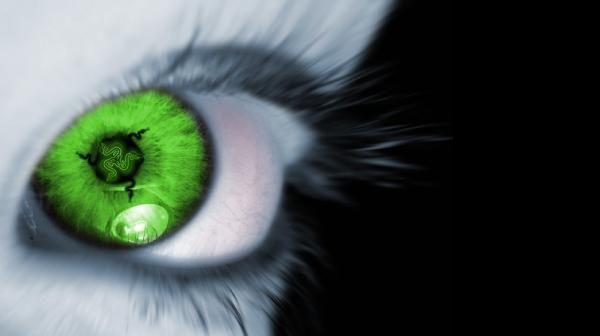 зелёный глаз