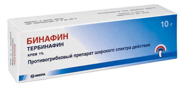 крем Бинафин