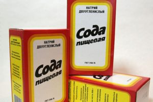 Сода против экземы