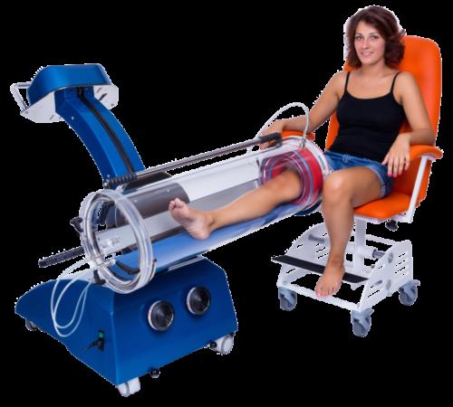 вакуумная терапия для ног