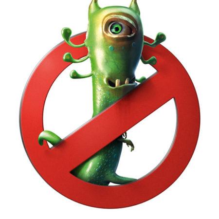 запрет для микроба