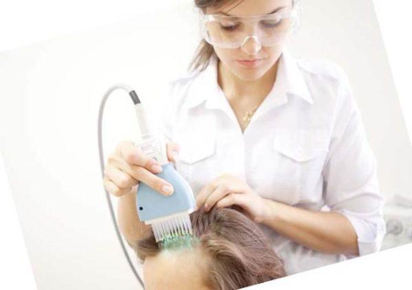 процедура на коже головы
