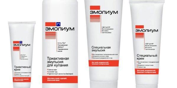 эмульсия и крема эмолиум