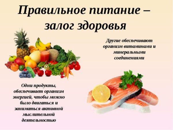 питание прравильное