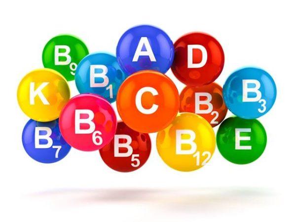 разноцветные витамины