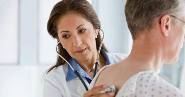 прослушивание пациента